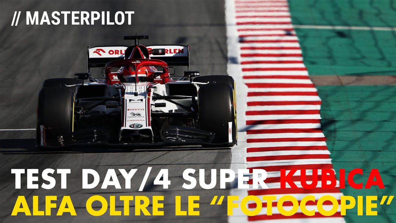 F1 2020 Barcelona Test Day 4 | SUPER Alfa Romeo + KUBICA tra le…FOTOCOPIE