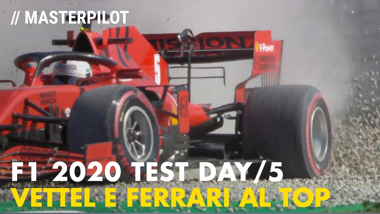 F1 2020 Barcelona Test Day 5 | Ferrari e Vettel al TOP nel giorno di Zandvoort!
