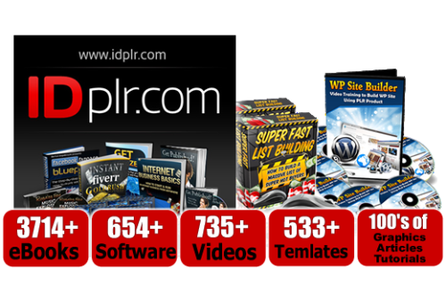 IDPLR Review – 12,590+ PLR Products